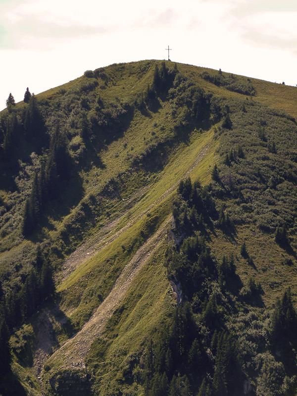 Zum Gipfelkreuz