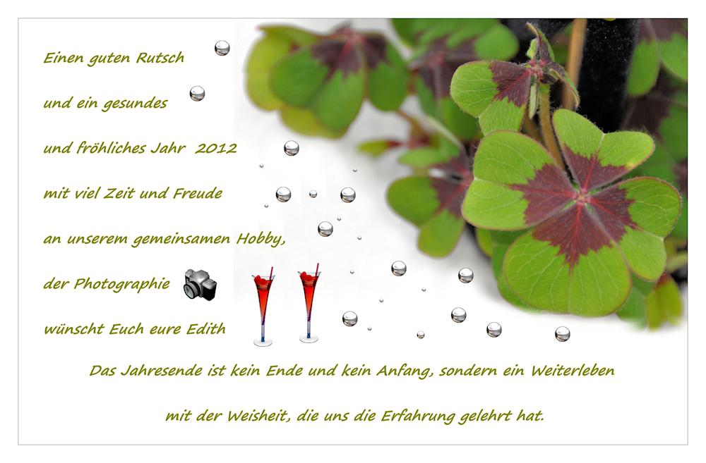 zum Jahresende.... Foto & Bild | karten und kalender ...