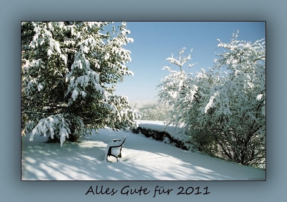 Zum Jahreswechsel