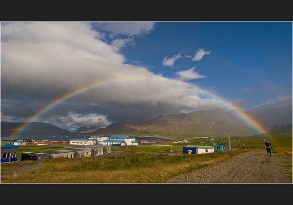 Zum Jubiläum ein Regenbogen