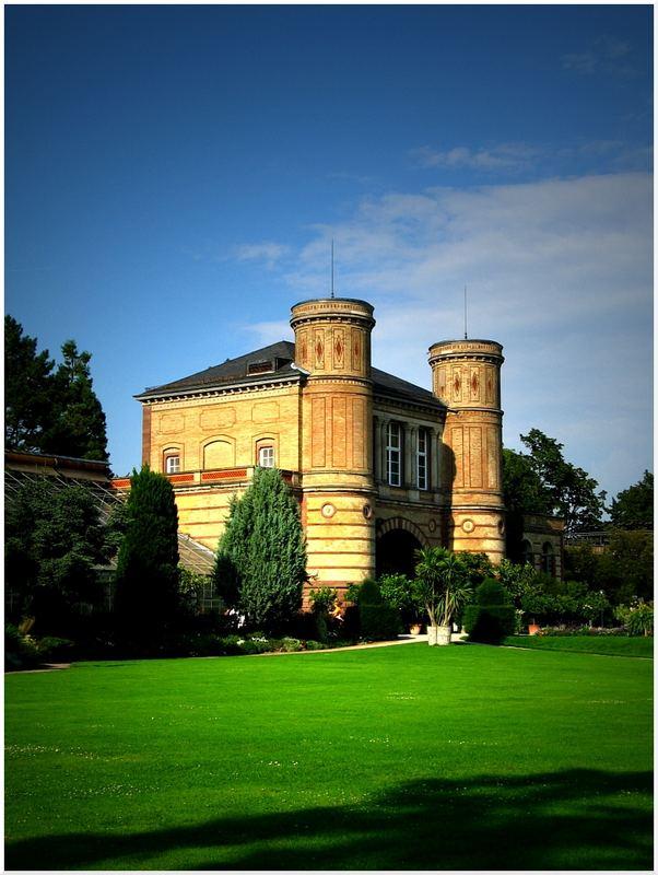 Zum Schlosspark...