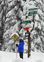 Zum Schneekopf 1 Km