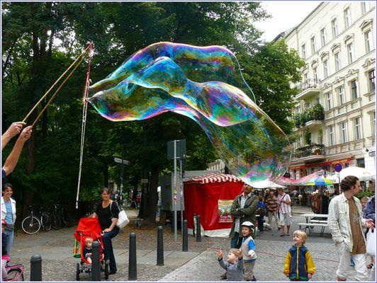 ..... zum Seifenblasenkünstler (1)