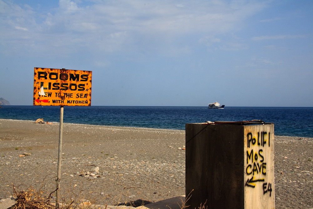 Zum Strand von Sougia
