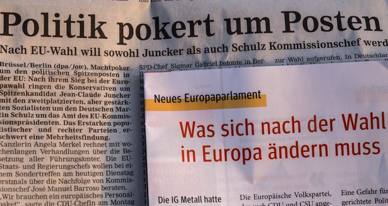 "Zum Thema ""EU Wahlen"""