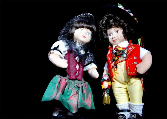 Zum Thema: Puppen und Teddies