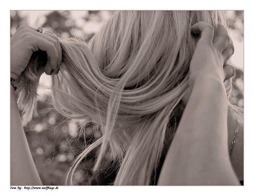 """Zum Thema """"Sie hat die Haare schön....."""""""