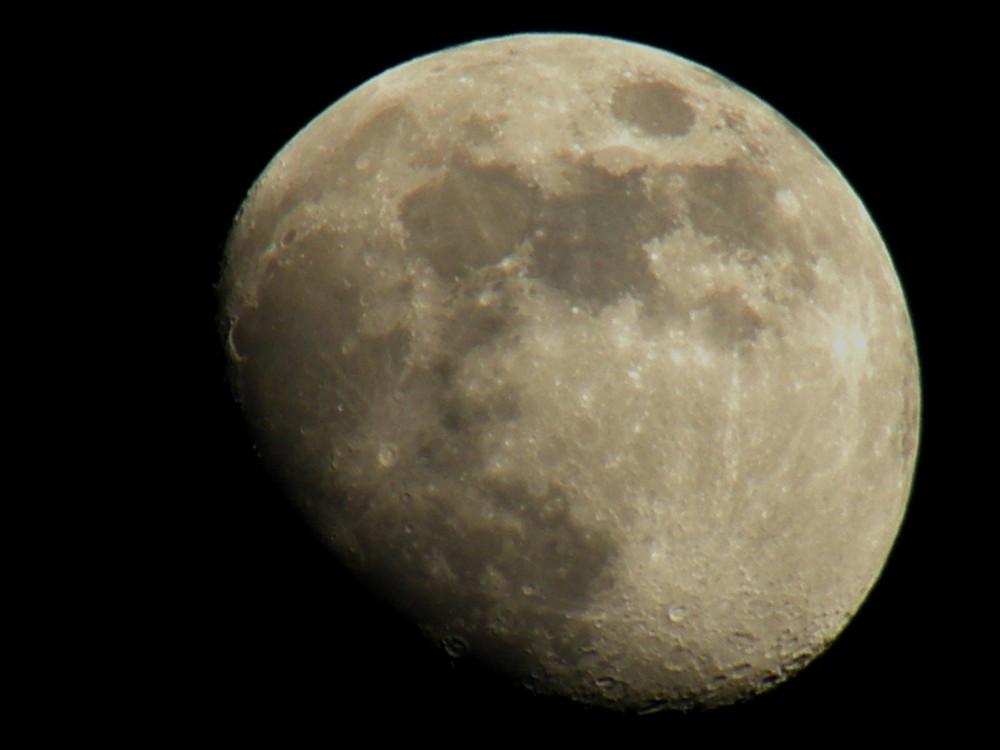 Zunehmender Mond am 17.02.08