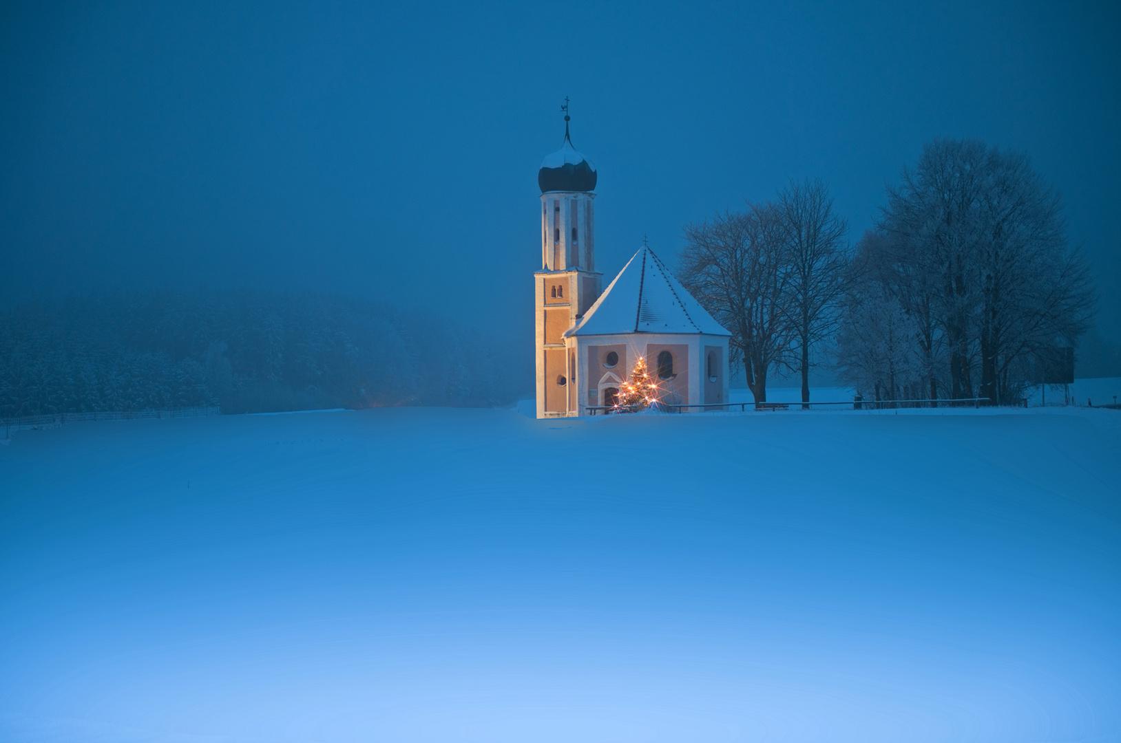 Zur blauen Stunde bei St. Salvator