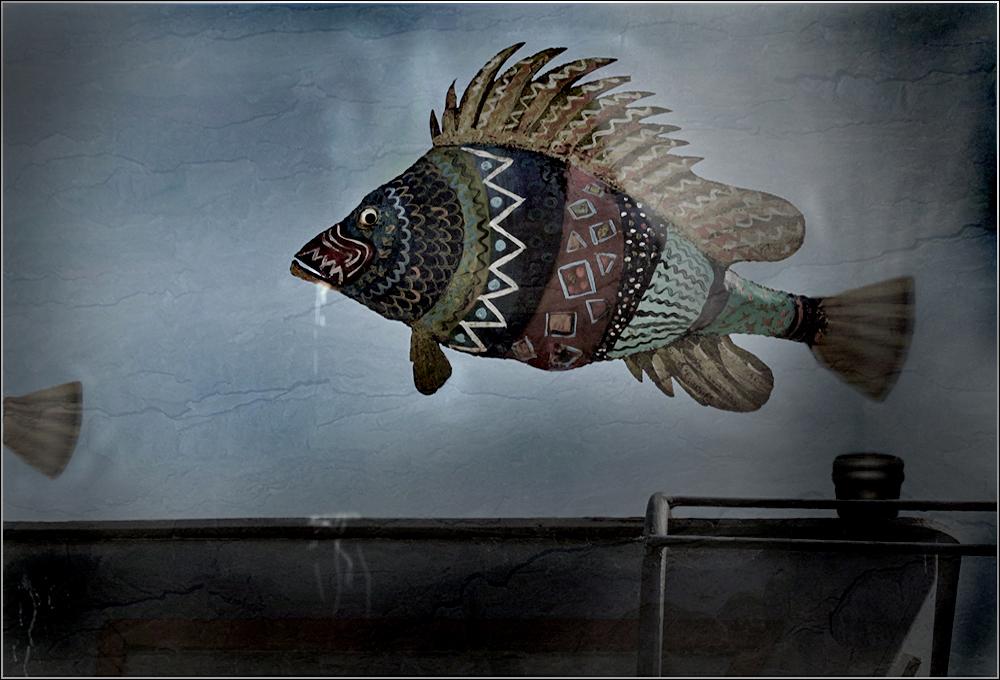 Zur Fasnacht gehn die Fische bunt - und ...