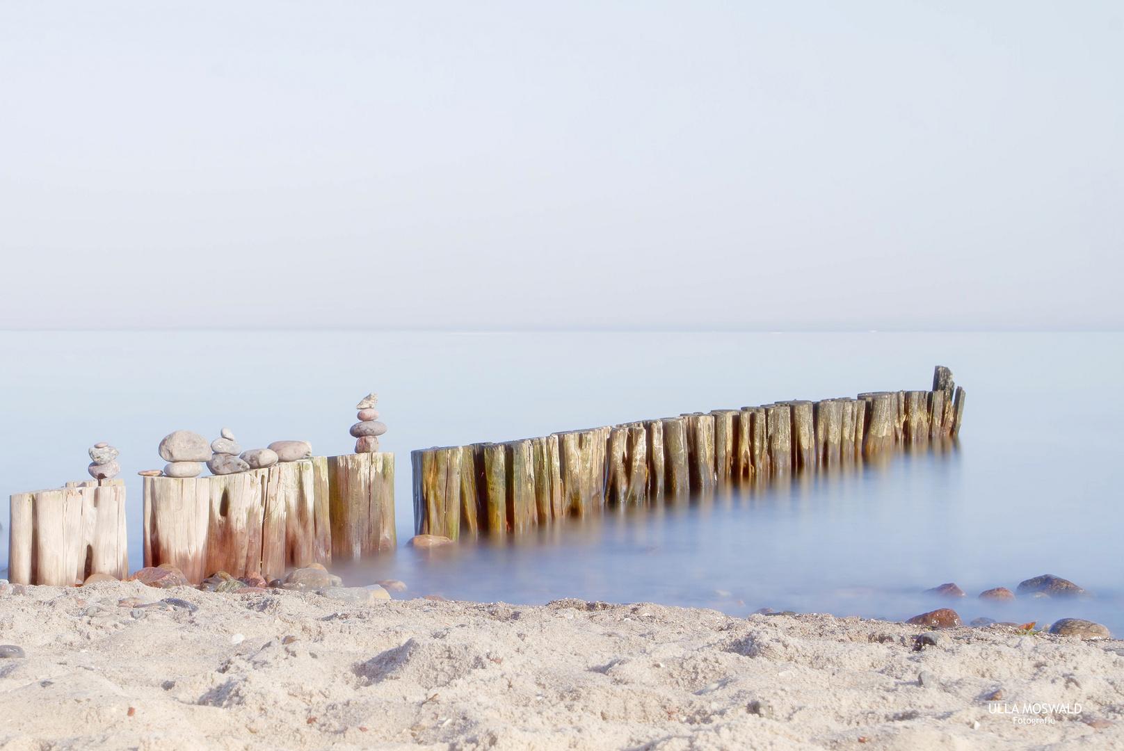 ...zur Ruhe gekommen ist die Ostsee...