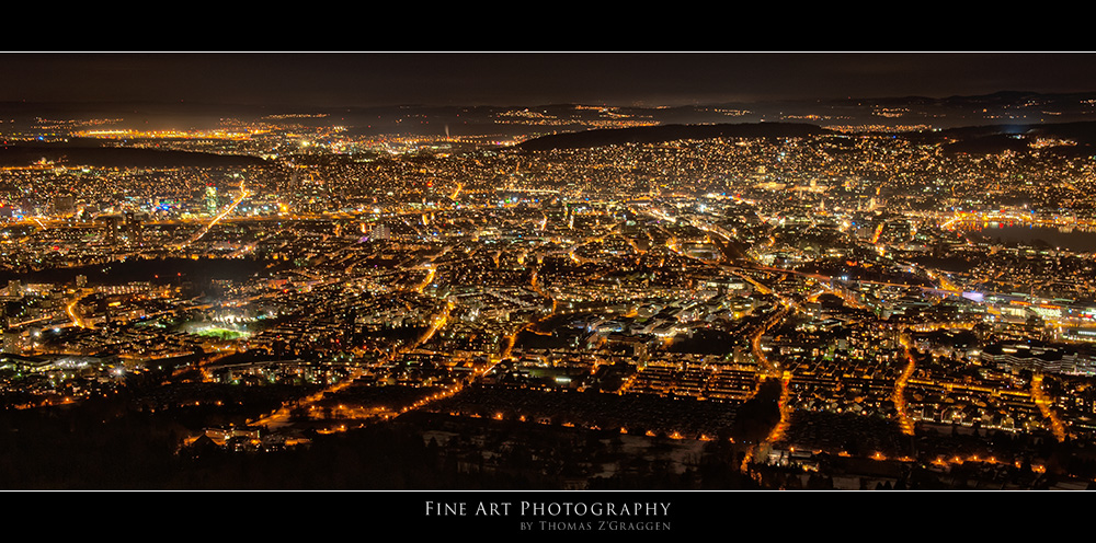 Zurich by night