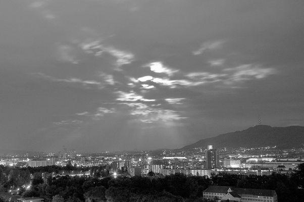 Zurich by night!