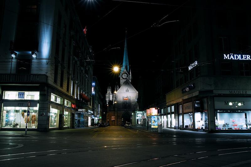 Zurich by night part 2