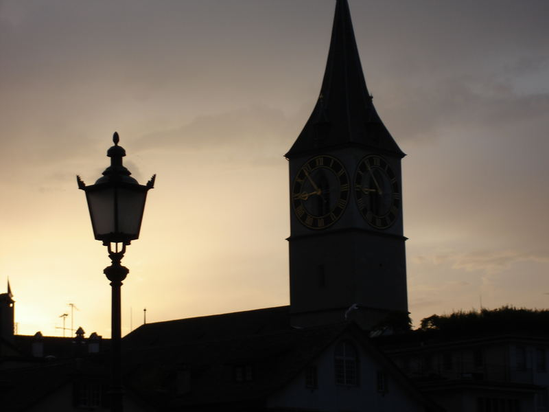 zurich in the last light