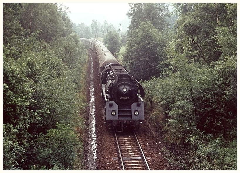 Zurück aus Weimar kurz vor Jena West