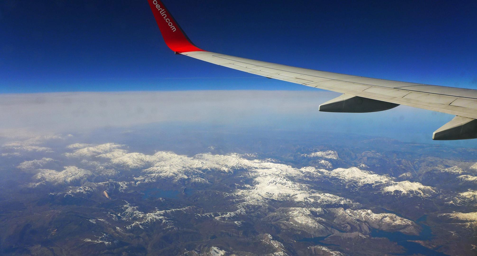 zurück über die Pyrenäen ...