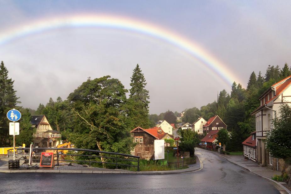 Zurück vom Land des Regenbogens