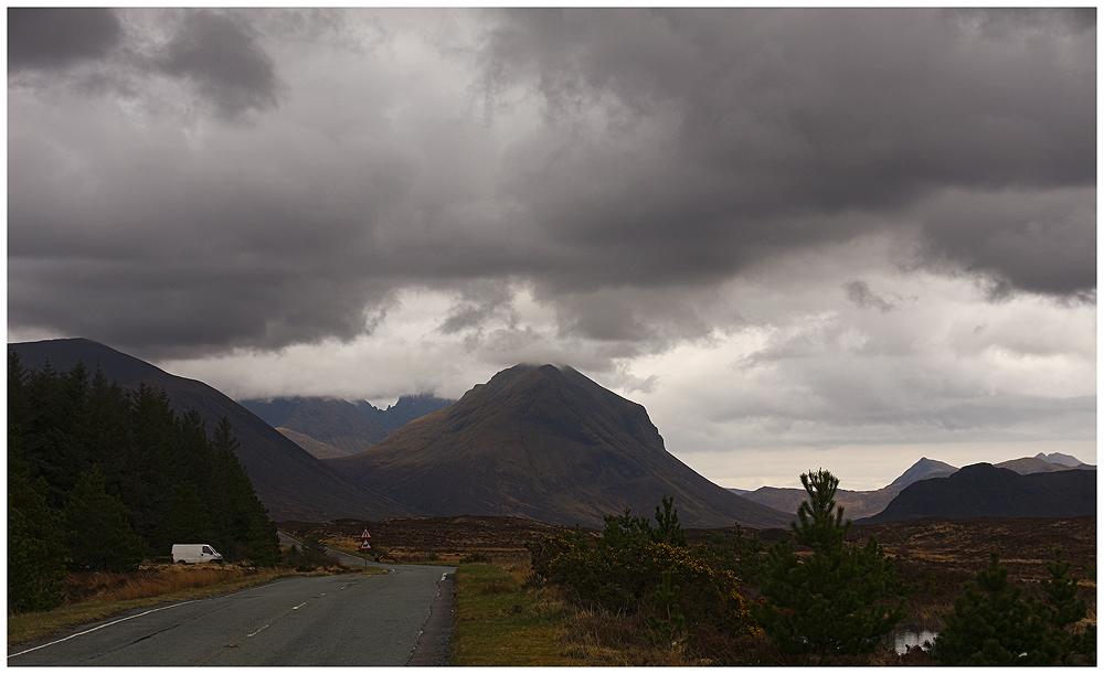 Zurück von der Insel Skye...