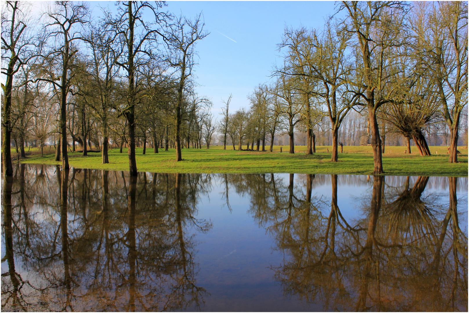 Zurückweichendes Hochwasser 1..