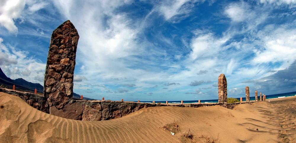Zwangsarbeitergrabstätte auf Fuerteventura