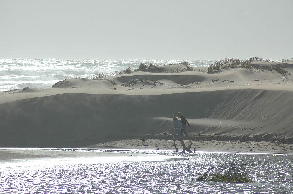 Zwei an der Big Dune