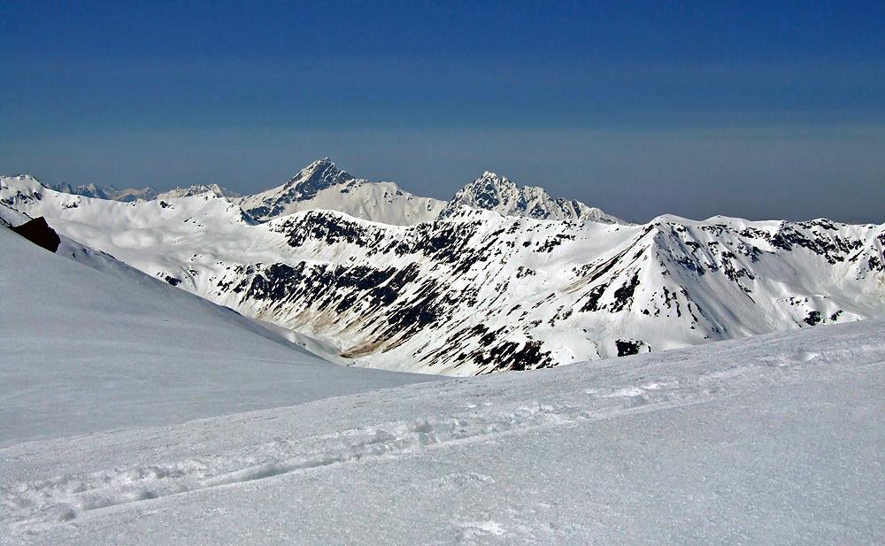 Zwei begehrenswerte Ski-Hörner...