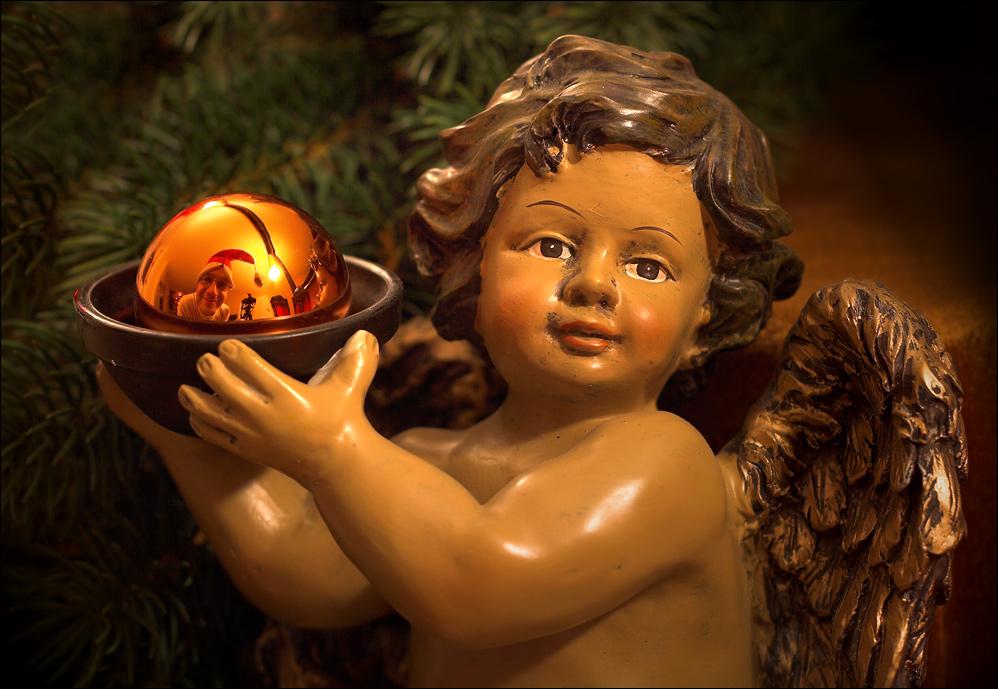 zwei b engel w nschen frohe weihnachten foto bild. Black Bedroom Furniture Sets. Home Design Ideas