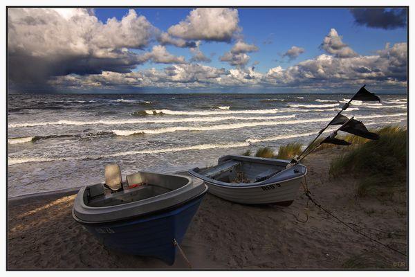 Zwei Boote
