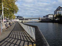 Zwei Brücken in Dublin