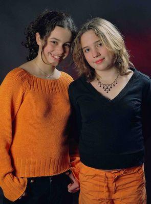 Zwei dicke Freundinnen