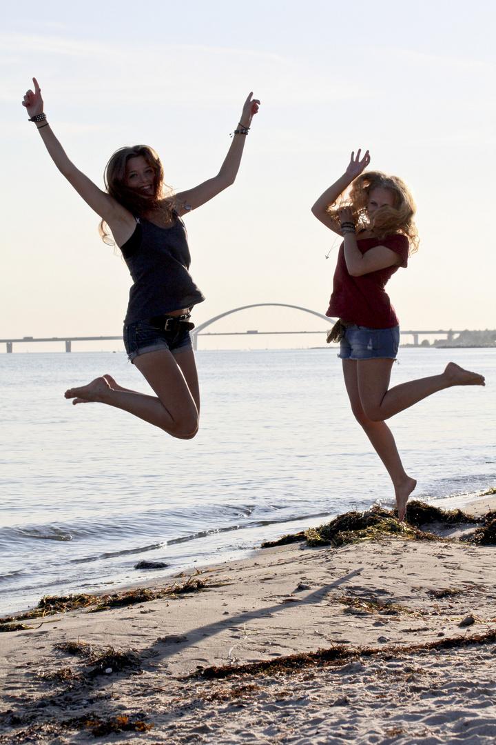 zwei Freundinnen