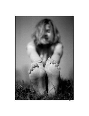 zwei Füße