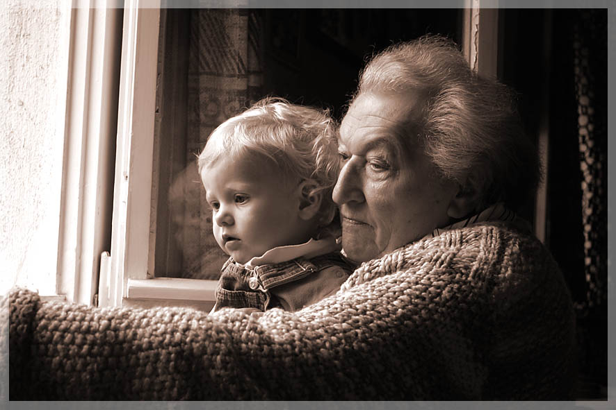 zwei Generationen Charlotte