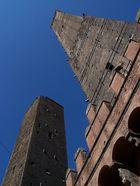 Zwei Geschlechtertürme in Bologna