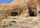 zwei gräber mit esel II