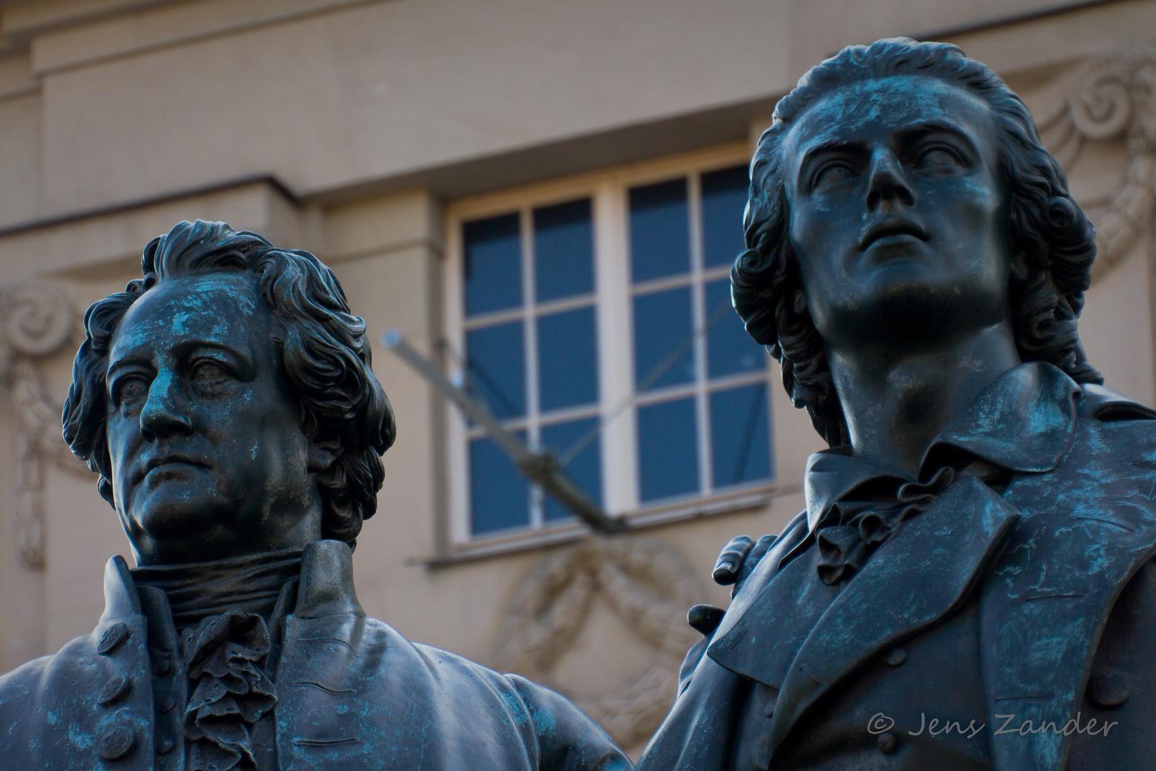 Zwei große Dichter und Denker