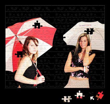 Zwei hübsche Mädels zum Puzzln :-)