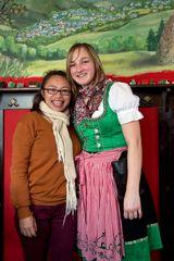 Zwei Ladys Indonesien/Sachsen