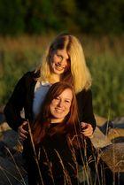 Zwei Mädchen an der Ostsee 3