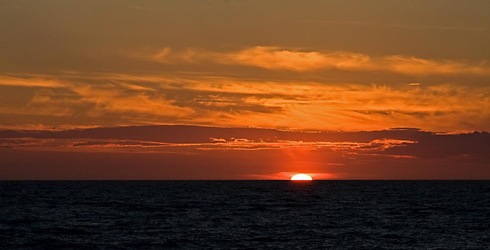 Zwei Minuten nach Sonnenaufgang