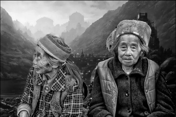 zwei Omas in China