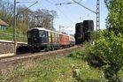 Zwei Re4/4 der Centralbahn ziehen den Hetzerather Partyzug
