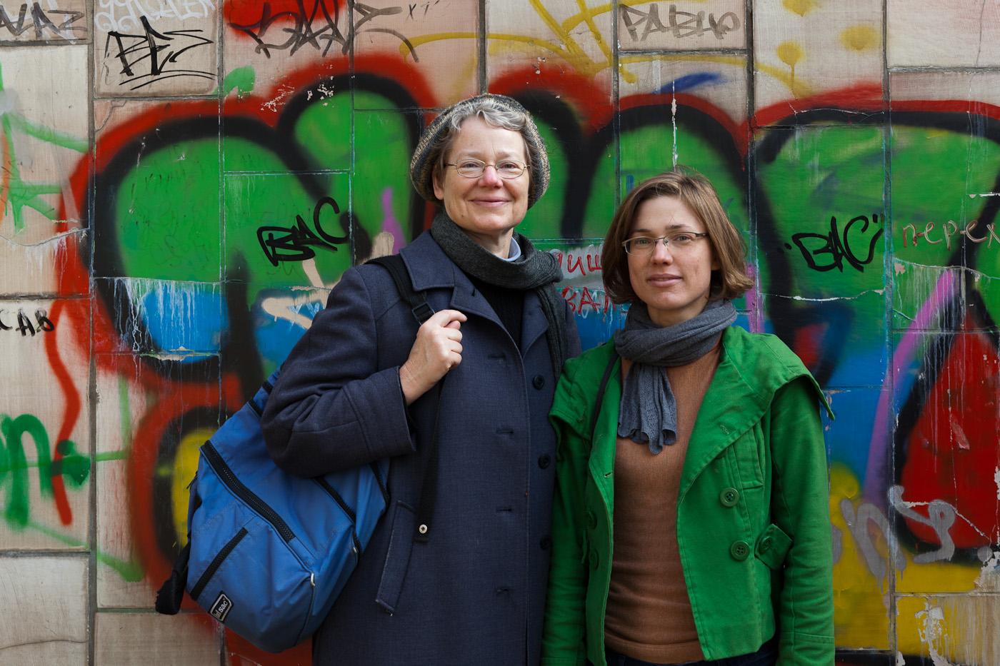 Zwei sehr angenehme Reisebegleiterinnen