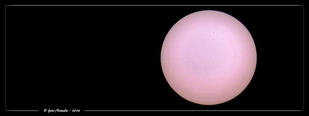 Zwei Sonnenfleck(ch)en am 12.09.2016  ..