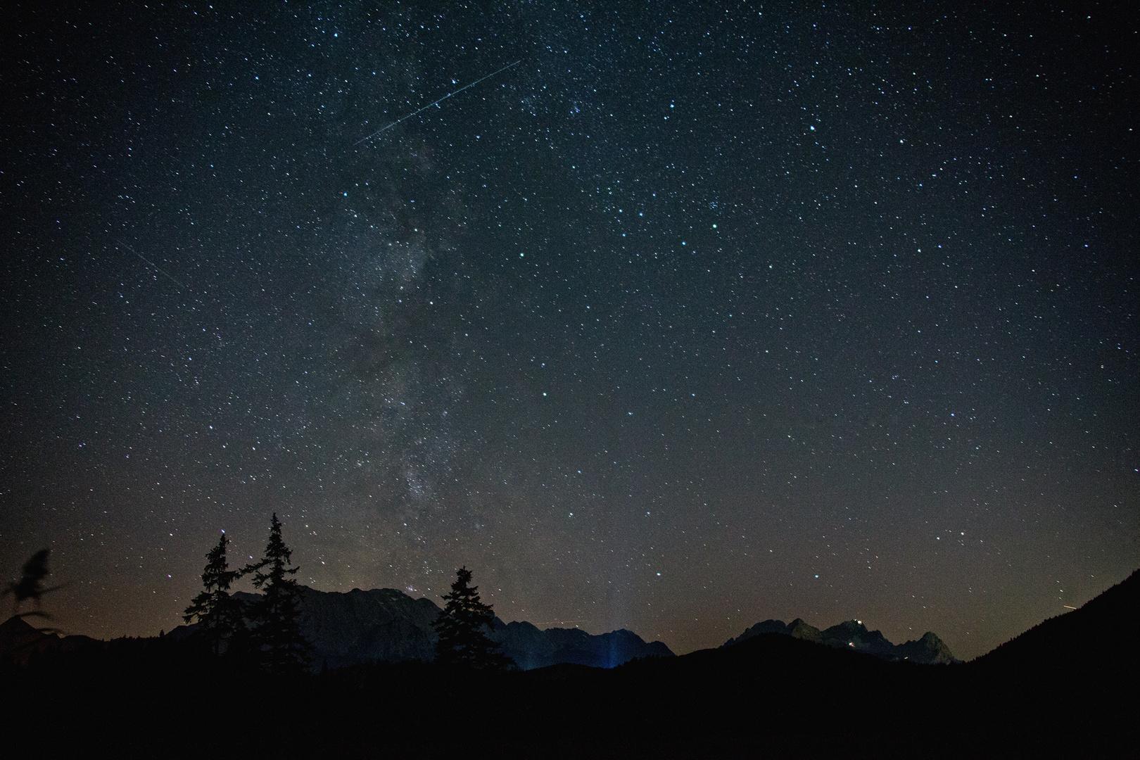 Zwei Sternschnuppen