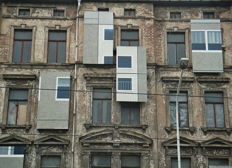 Zwei Stile - ein Haus