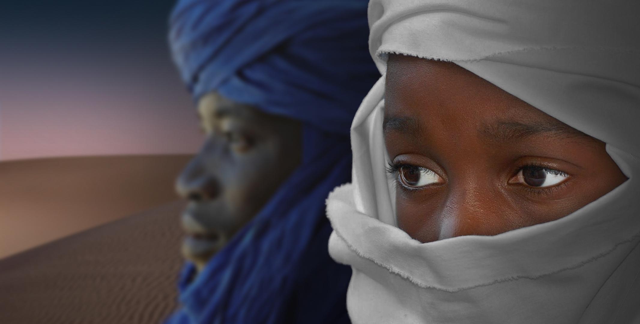 Zwei Tuareg