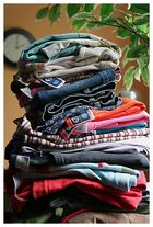 Zwei Uhr Wäsche