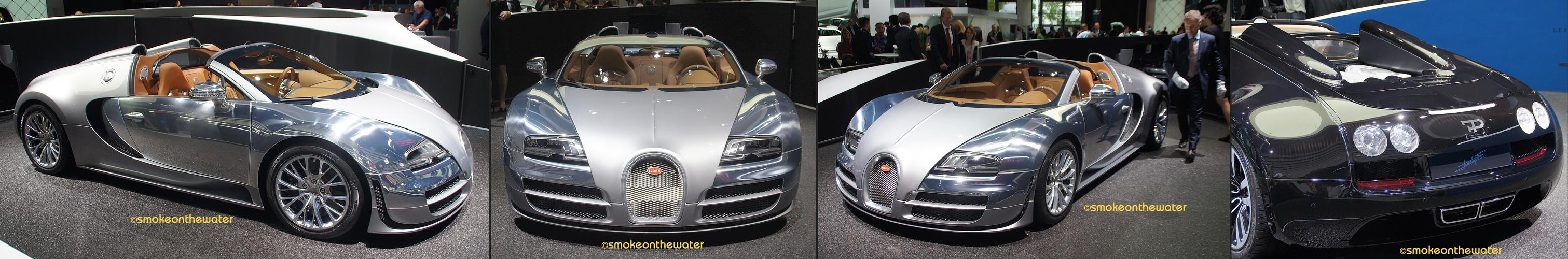 Zwei Weltpremieren beim Bugatti Veyron 16,4